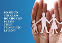 Bố mẹ có thể giám hộ cho con bị tâm thần trong việc ly hôn?